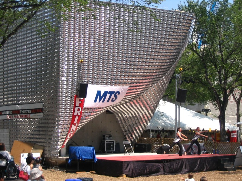 "Brand New ""Cube Stage"" at Old Market Square"
