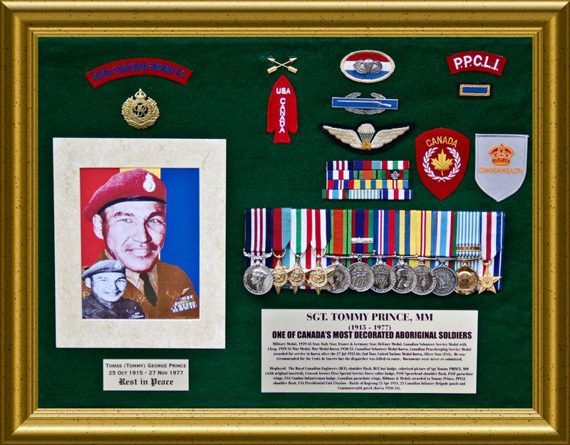 Lest We Forget Sergent Tommy Prince Canada S Almost