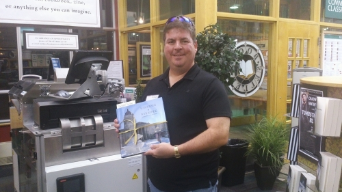 Celebrating with my copy of Winnipeg by Winnipeg. Check out my image on page 17 of the book.