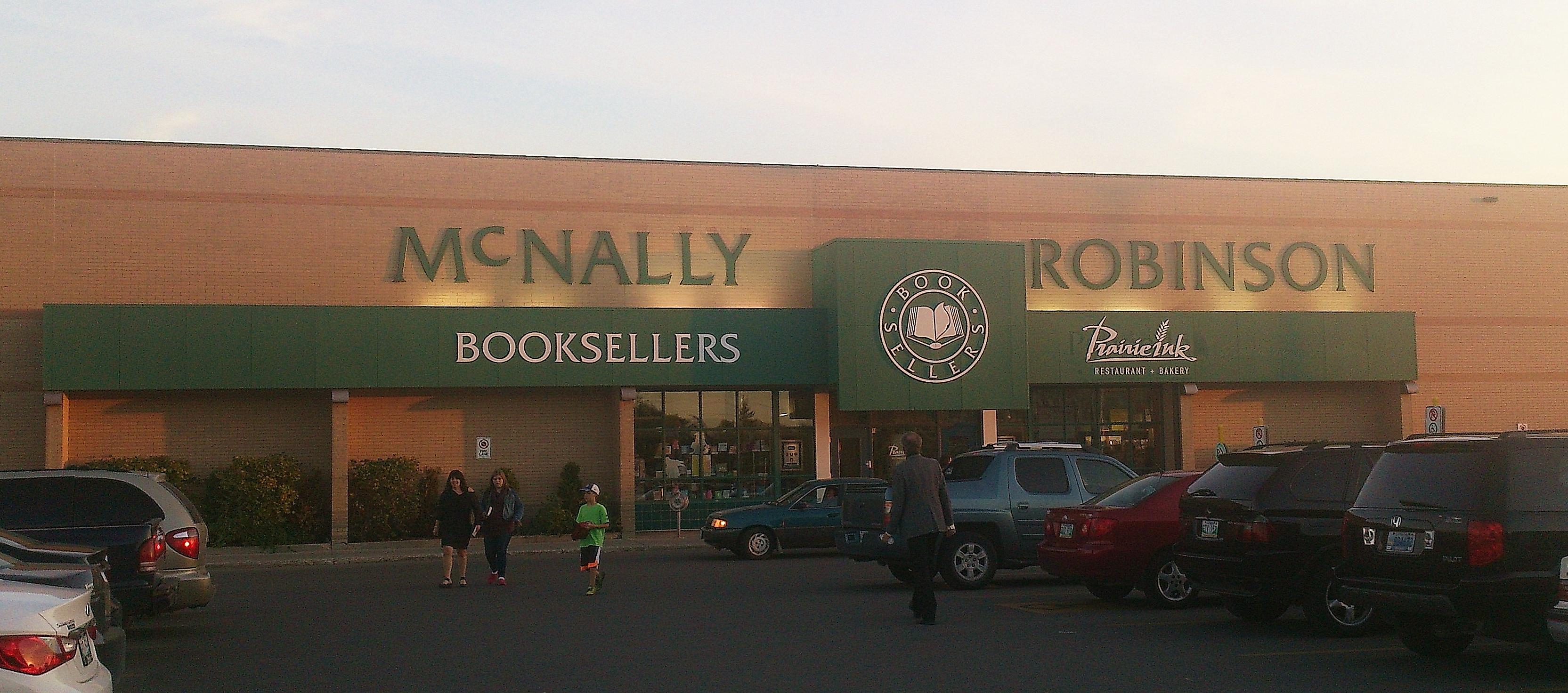 Mcnally Robinson Winnipeg Restaurant Menu