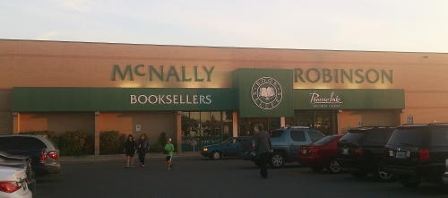 McNally Robinson Store in Grant Park Shopping Center