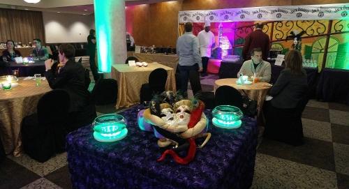 Masks on Table