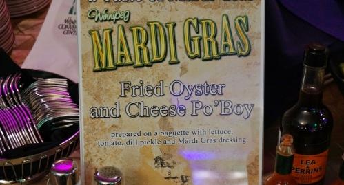 Oyster Po' Boy Sign