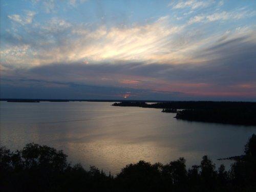 Sunny Cove at dusk