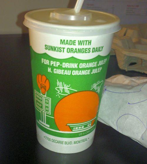 Orange Julip Drink