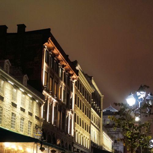 Square Romanesque Night One Montreal